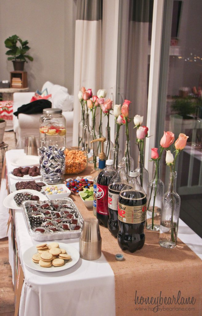 favorite things dessert table