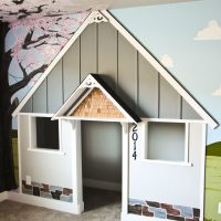 Built in Indoor Playhouse