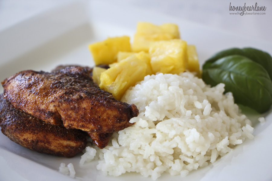 island spice chicken