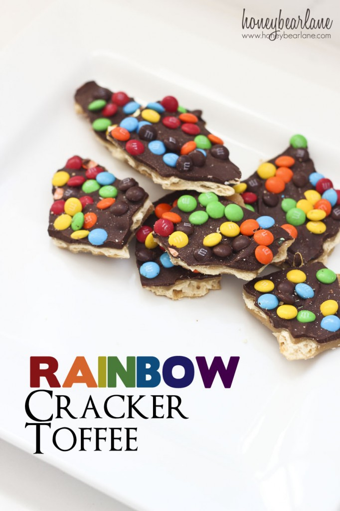 rainbow cracker toffee