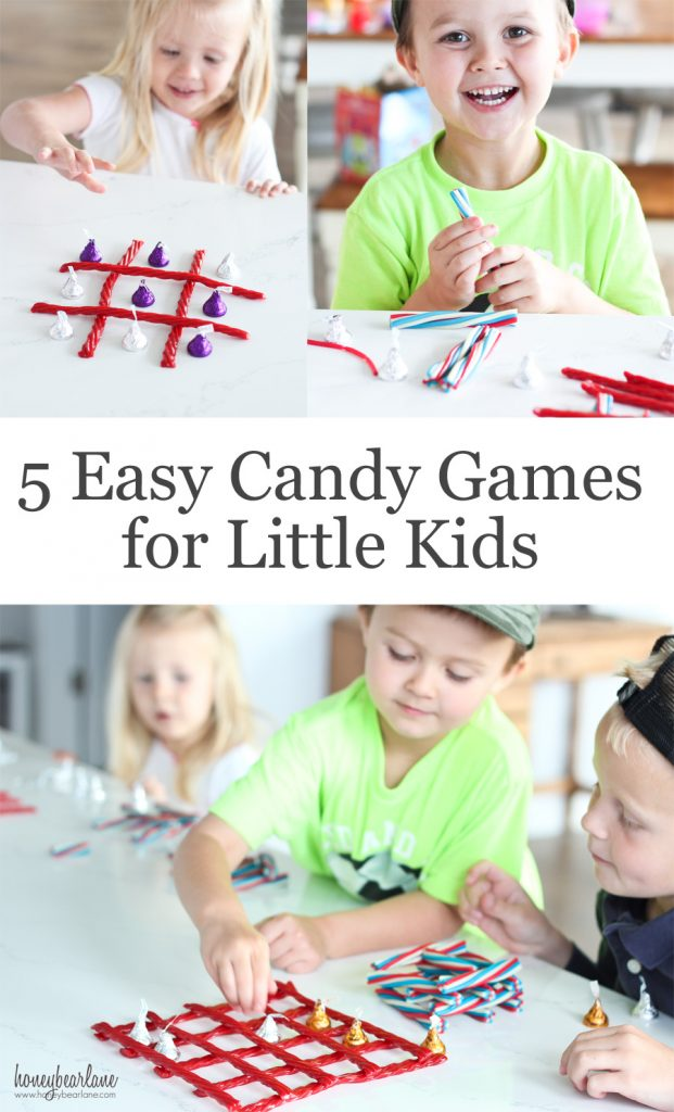 5 easy candy games for little kids