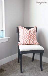 Room Painted Coral And Caribe Green