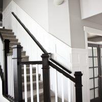 DIY Stair Wainscoting