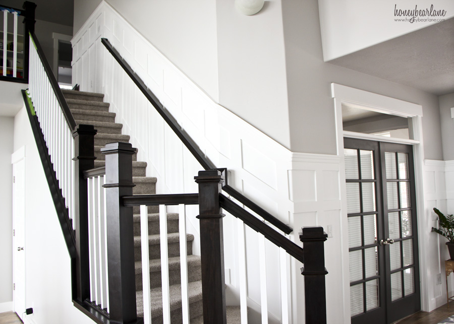 Beau Stairs Wainscoting