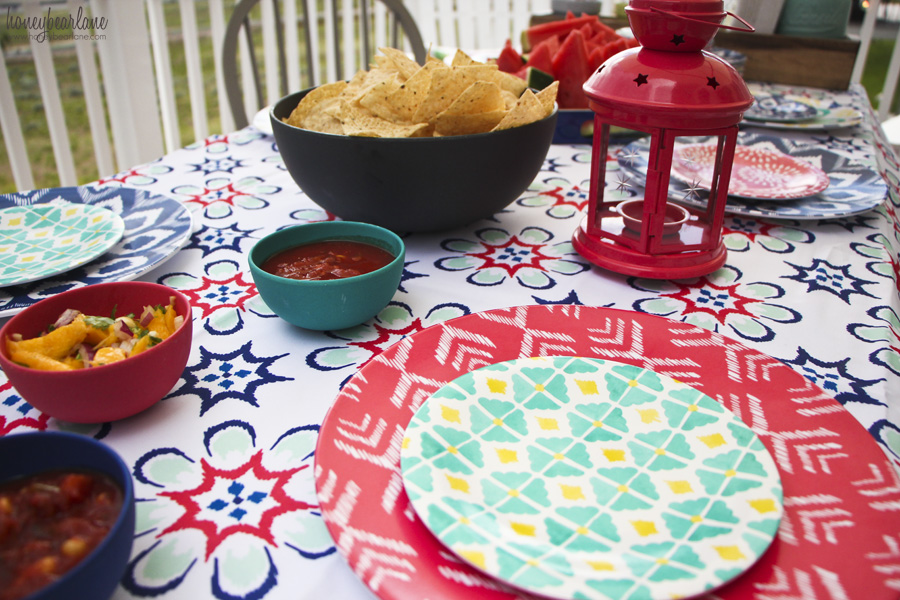 target style dinner plates