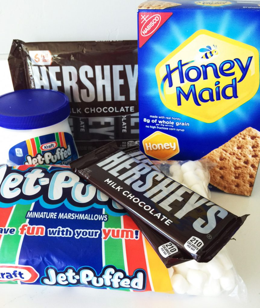 smores ice cream ingredients