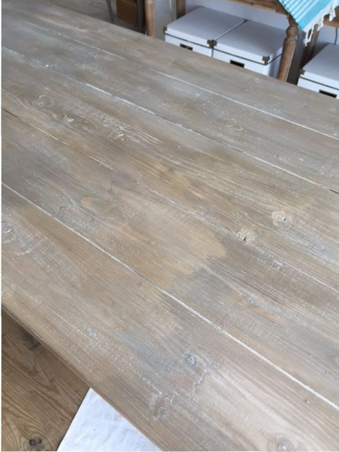 DIY weathered wood finish