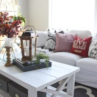 Cozy Fall Living Room Update