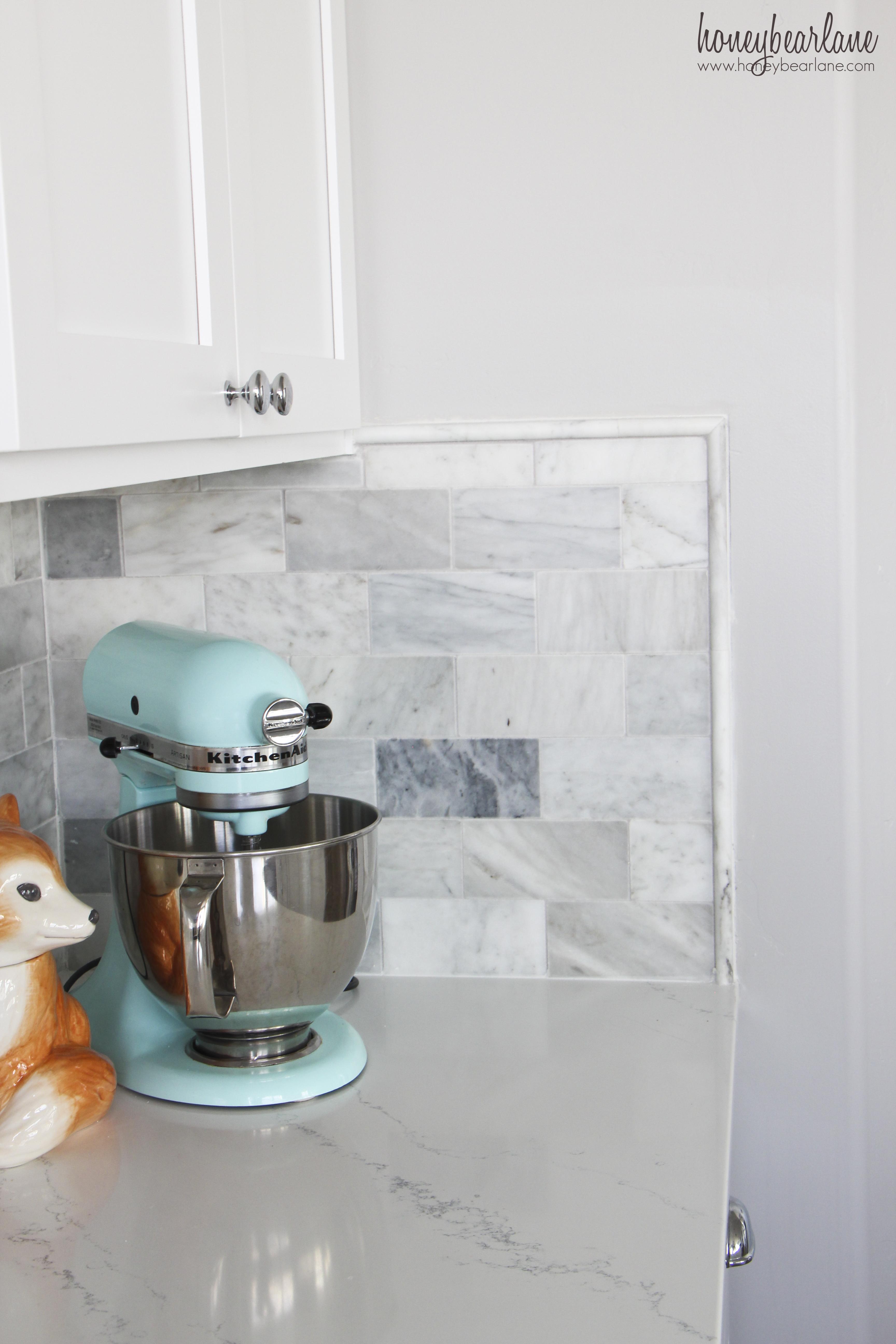 Marble Kitchen Backsplash Tile