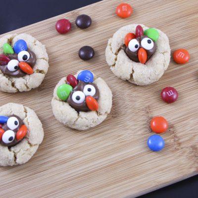 kids thanksgiving turkey treat