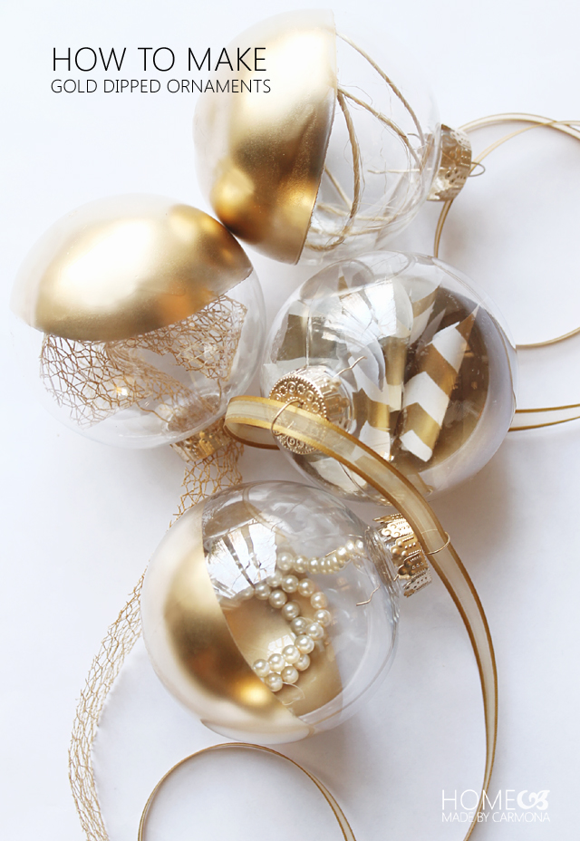 25 Fabulous Easy Diy Ornaments Honeybear Lane