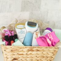 Pedicure Gift Basket Idea