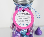 Message in a Bottle Valentine