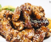 Sesame Teriyaki Chicken Wings