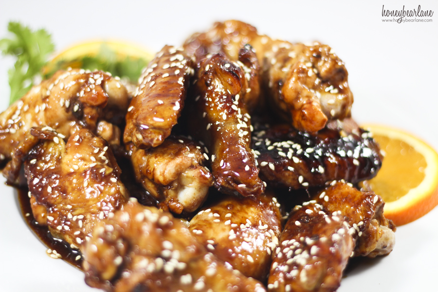 chicken teriyaki wings