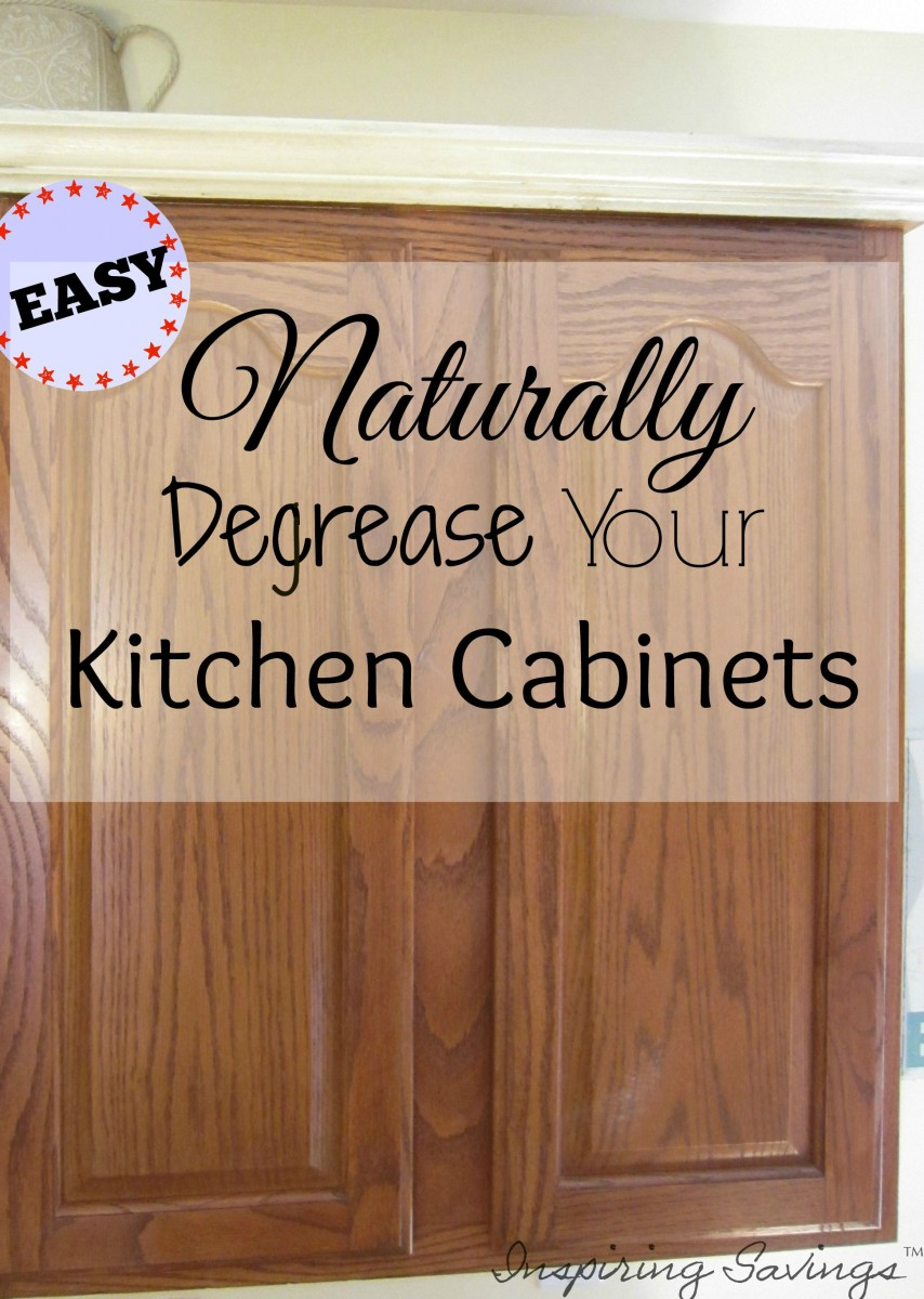 Cleaning Kitchen Cabinets With White Vinegar