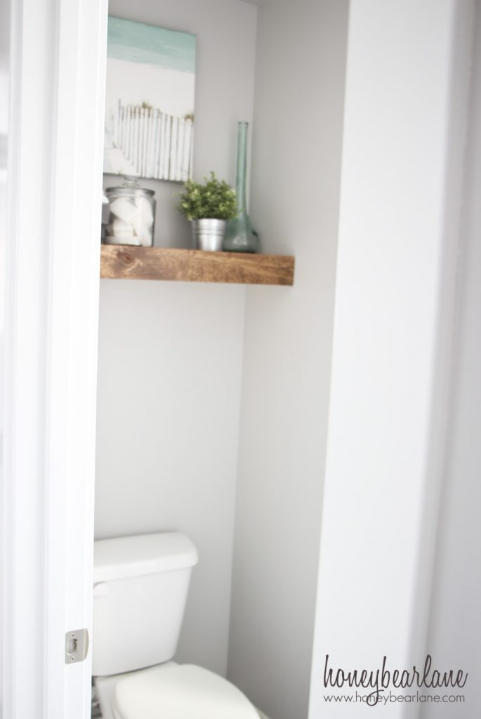 floating shelf toilet cove