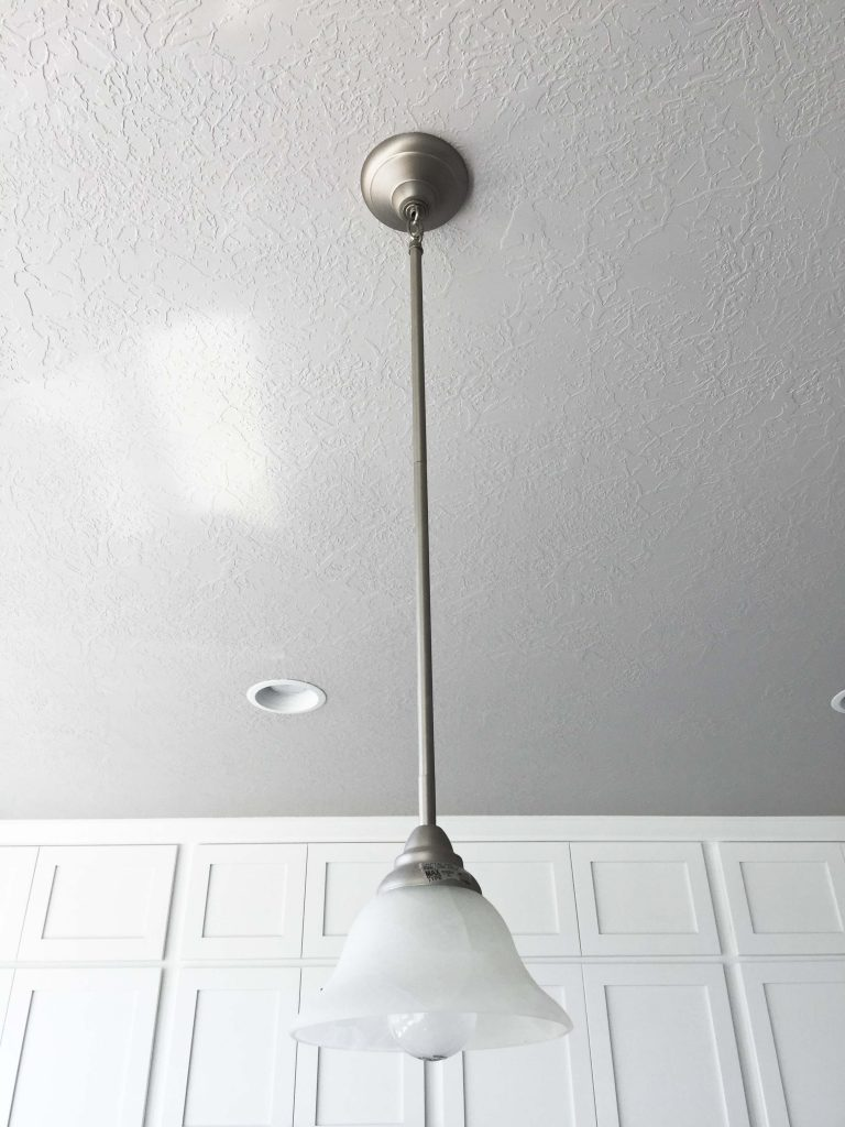 how to install an island pendant