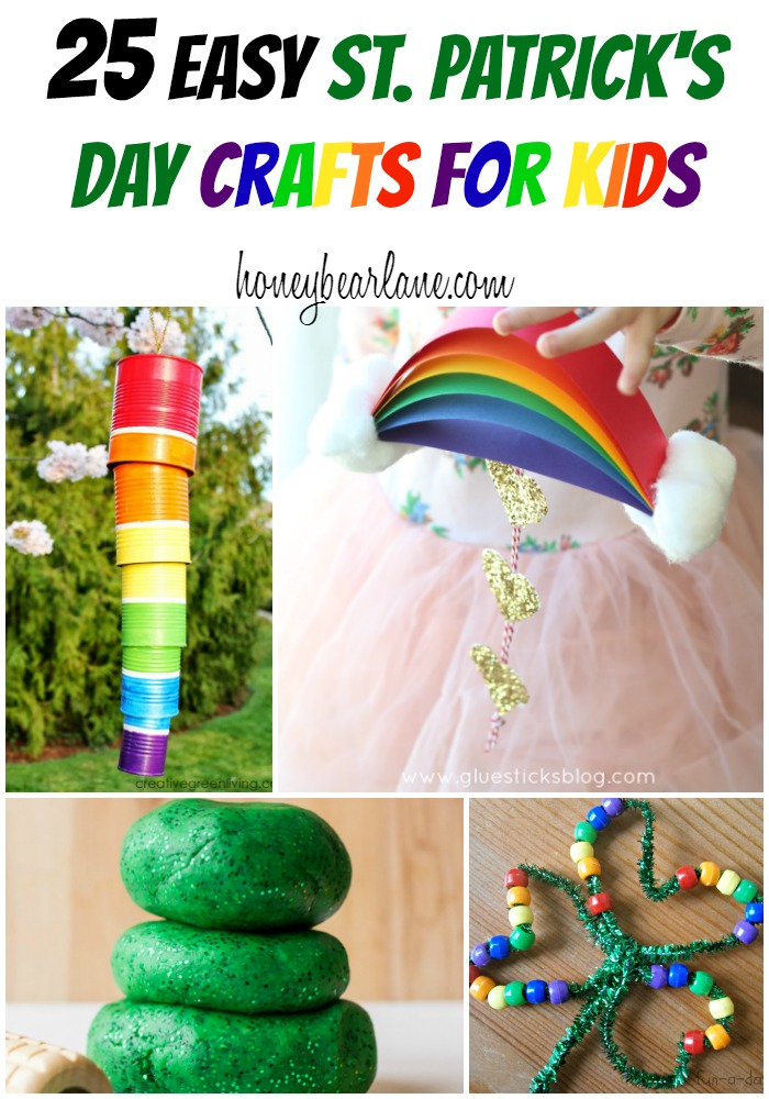 st patricks day crafts 25 easy st s day crafts for honeybear 5486