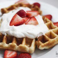 Ten Minute Waffle Recipe