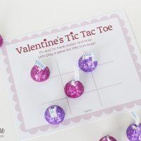 Candy Valentine Tic Tac Toe
