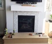 Fireplace Mantel Makeover, Part 1