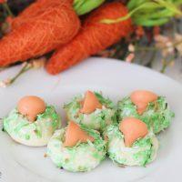Carrot Cake Kiss Cookies