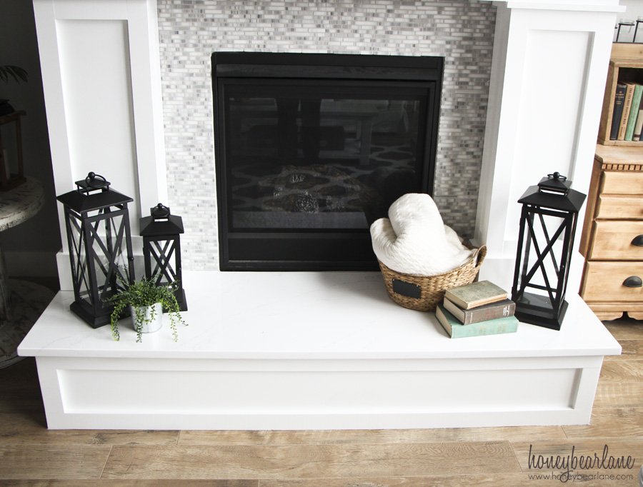 decorating a hearth