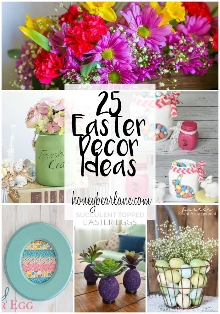 25 Easter Decor Ideas Honeybear Lane