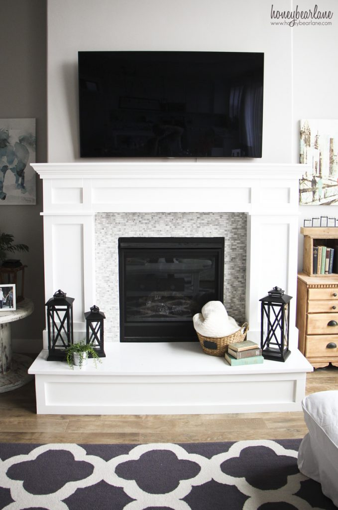 How To Decorate A Hearth Honeybear Lane