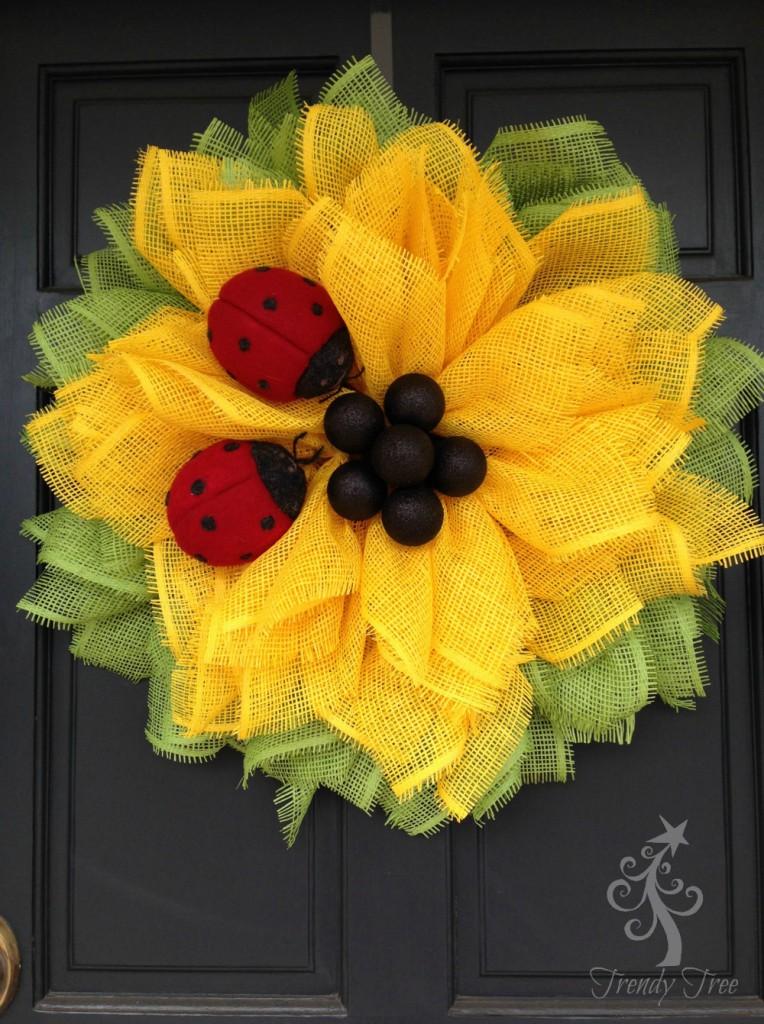 25 Beautiful Diy Spring Wreaths Honeybear Lane
