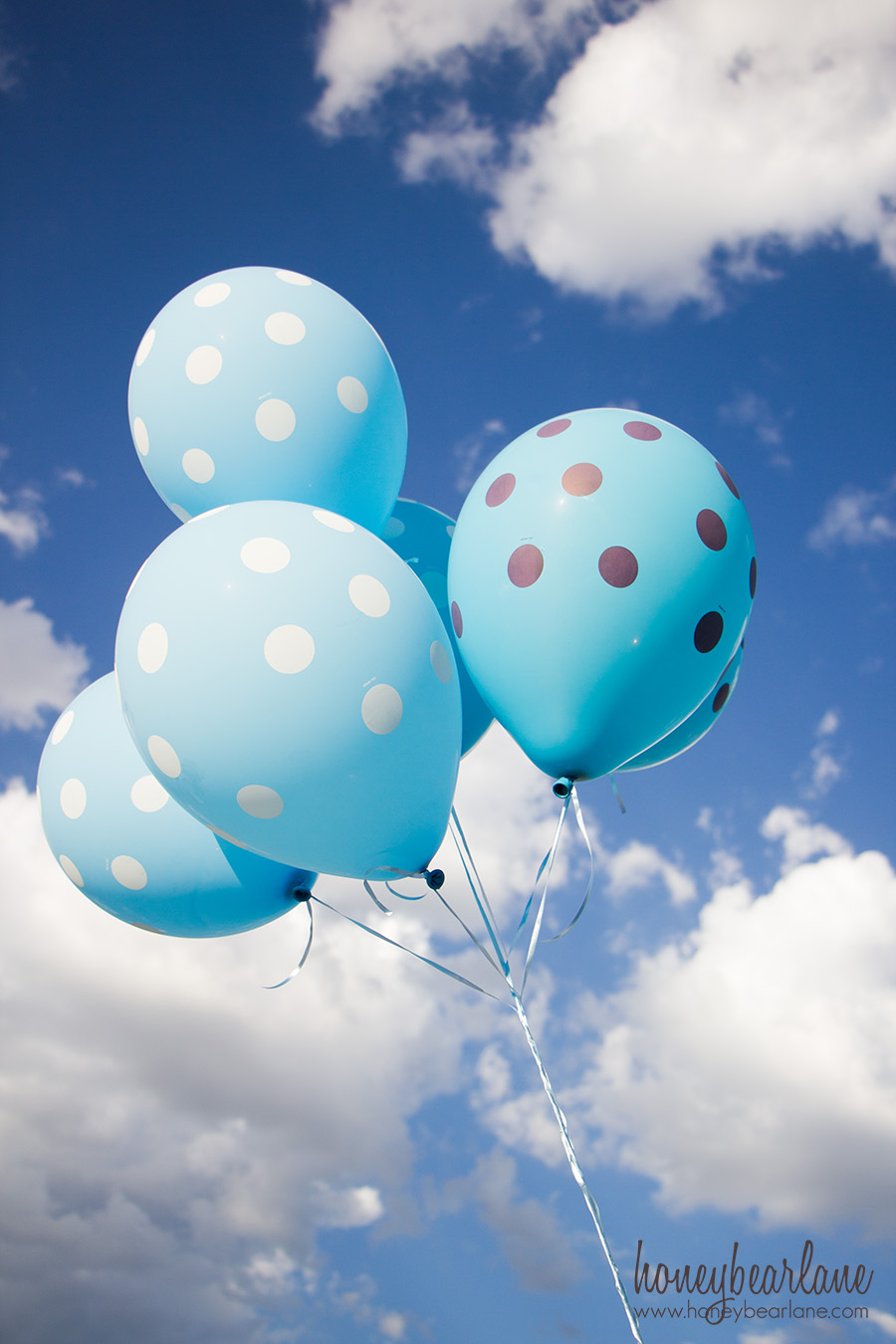 Backyard Balloon Party Honeybear Lane