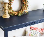 Easy Console Table Makeover