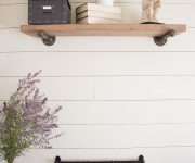 Shiplap Wall for Under $50