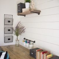 DIY Industrial Farmhouse Desk