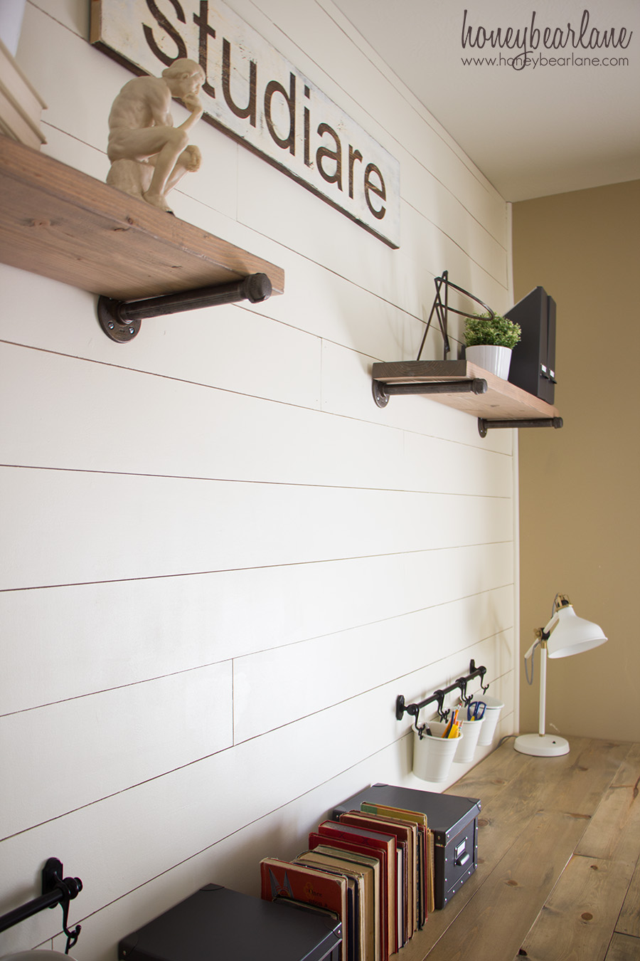 Finest Shiplap Wall for Under $50 - Honeybear Lane QZ66