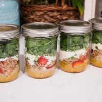 How to Host a Salad Jar Party