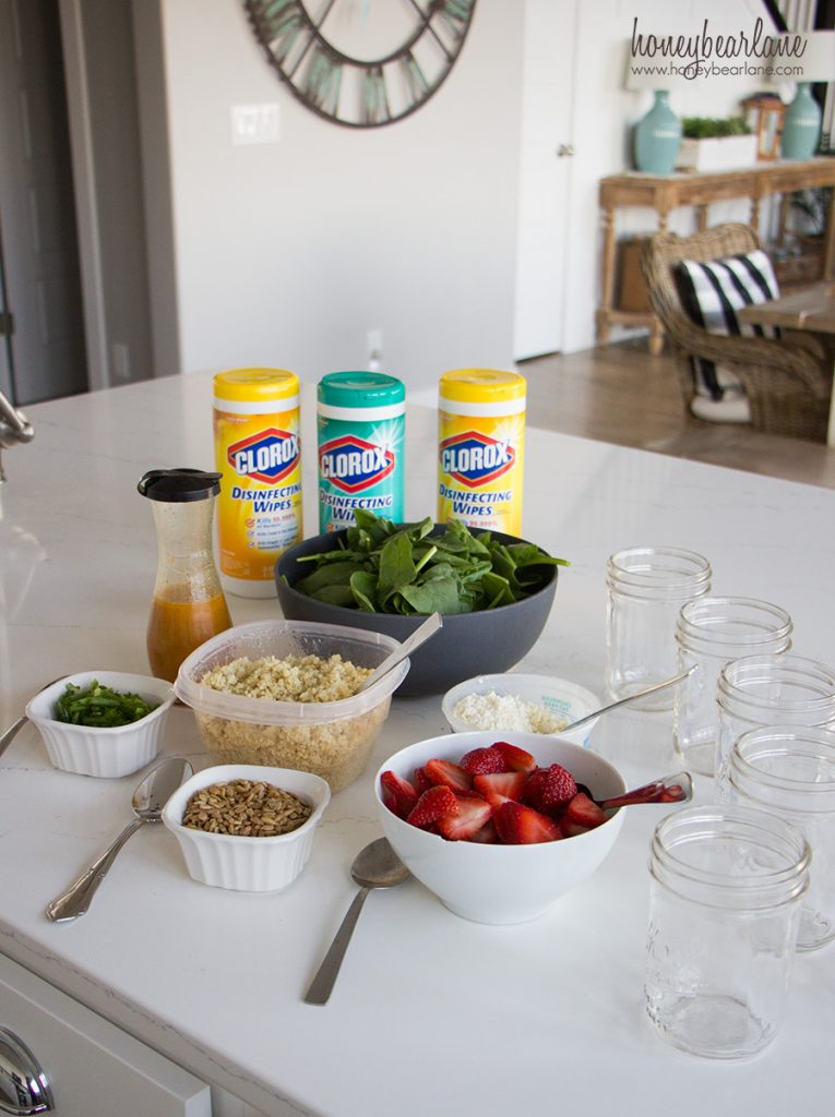 strawberry-quinoa-salad-jar-ingredients