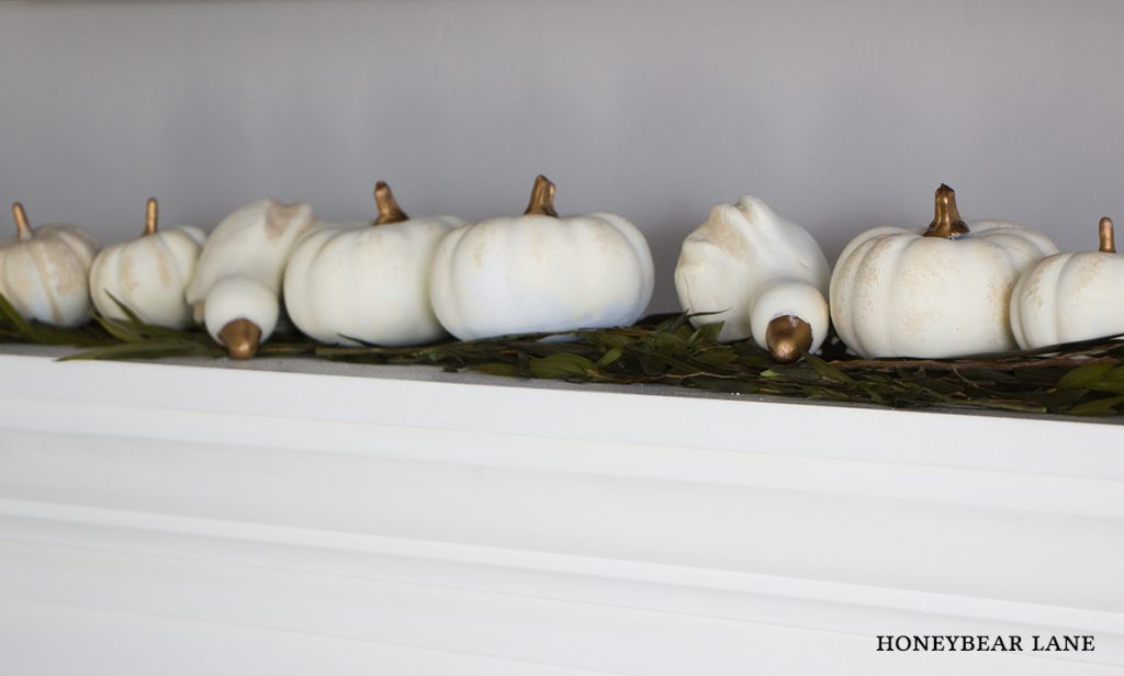 white-painted-pumpkins