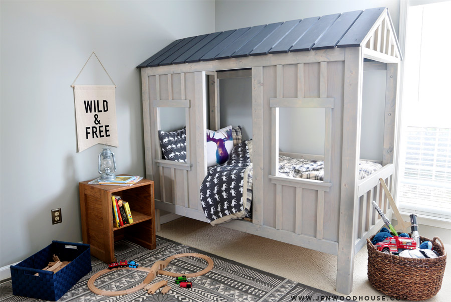 Cabin Bed Styled Full 02