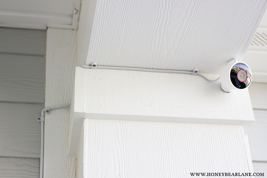Smart Home Series How To Setup An Outdoor Nest Camera on Honey Bear
