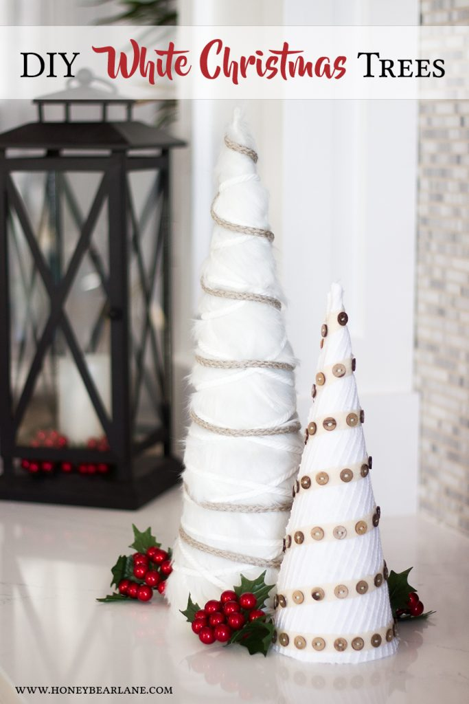 diy-white-christmas-trees