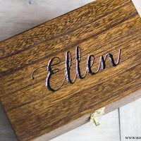 Custom Engraved Memory Boxes