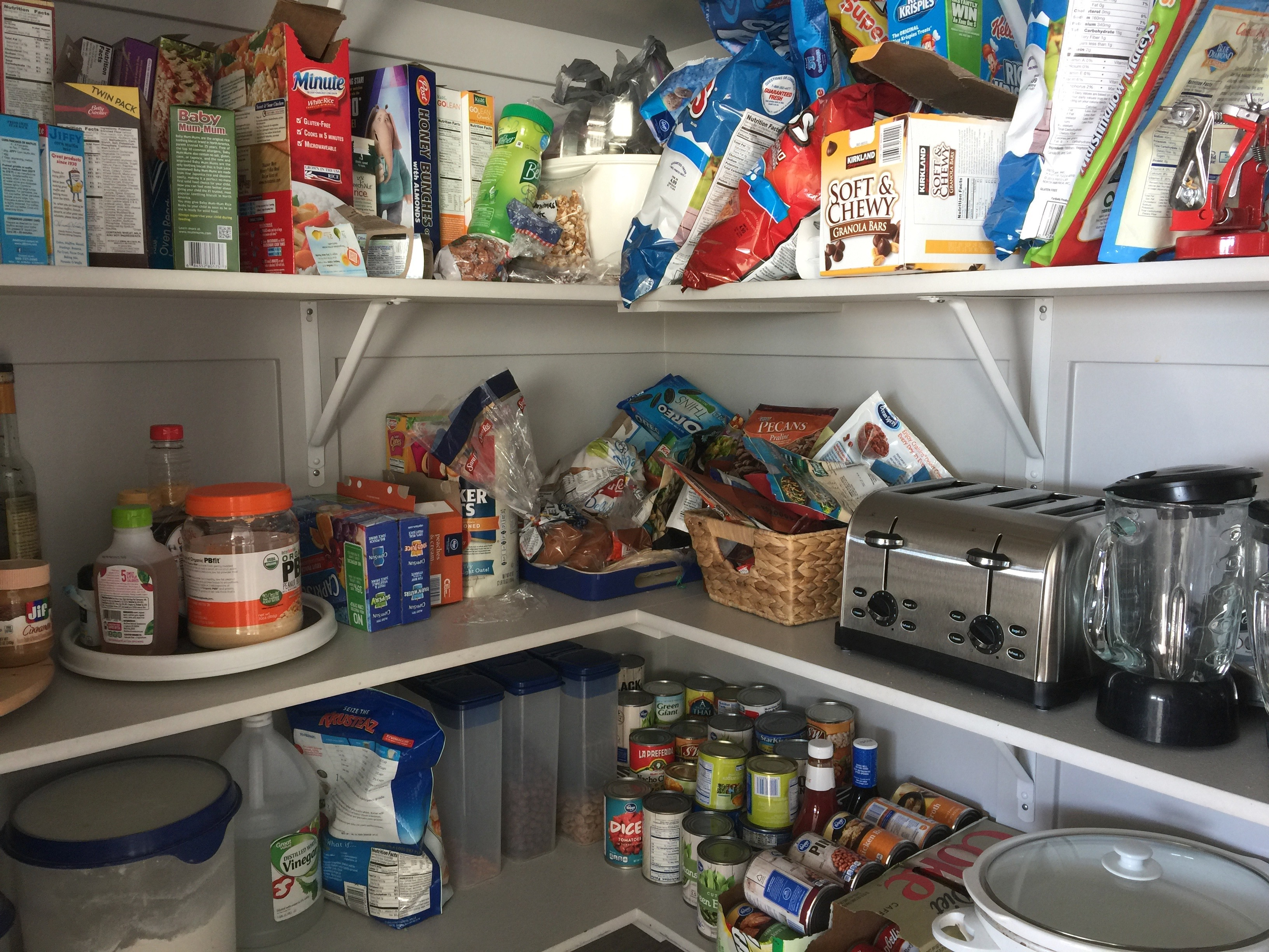 and here it is now - Organized Pantry