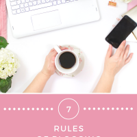 Seven Rules of Proper Blogging Etiquette