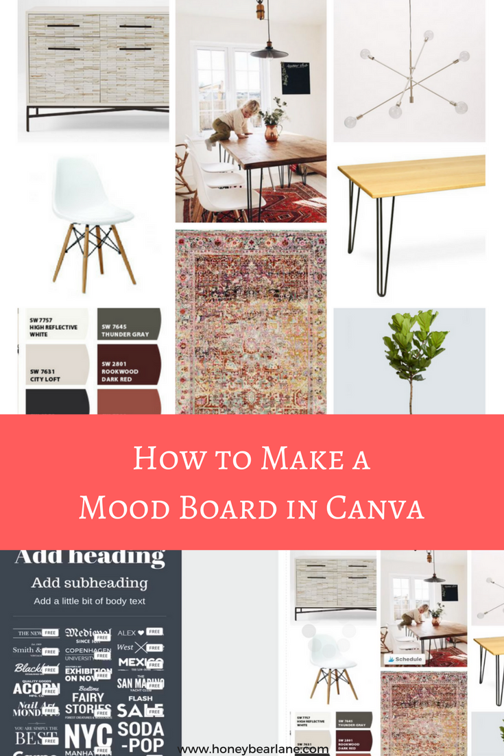 To See Just How Easy It Is I M Sharing A Tutorial On Make Mood Board In Canva Right Here