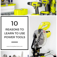 10 Reasons to Learn How to Use Power Tools