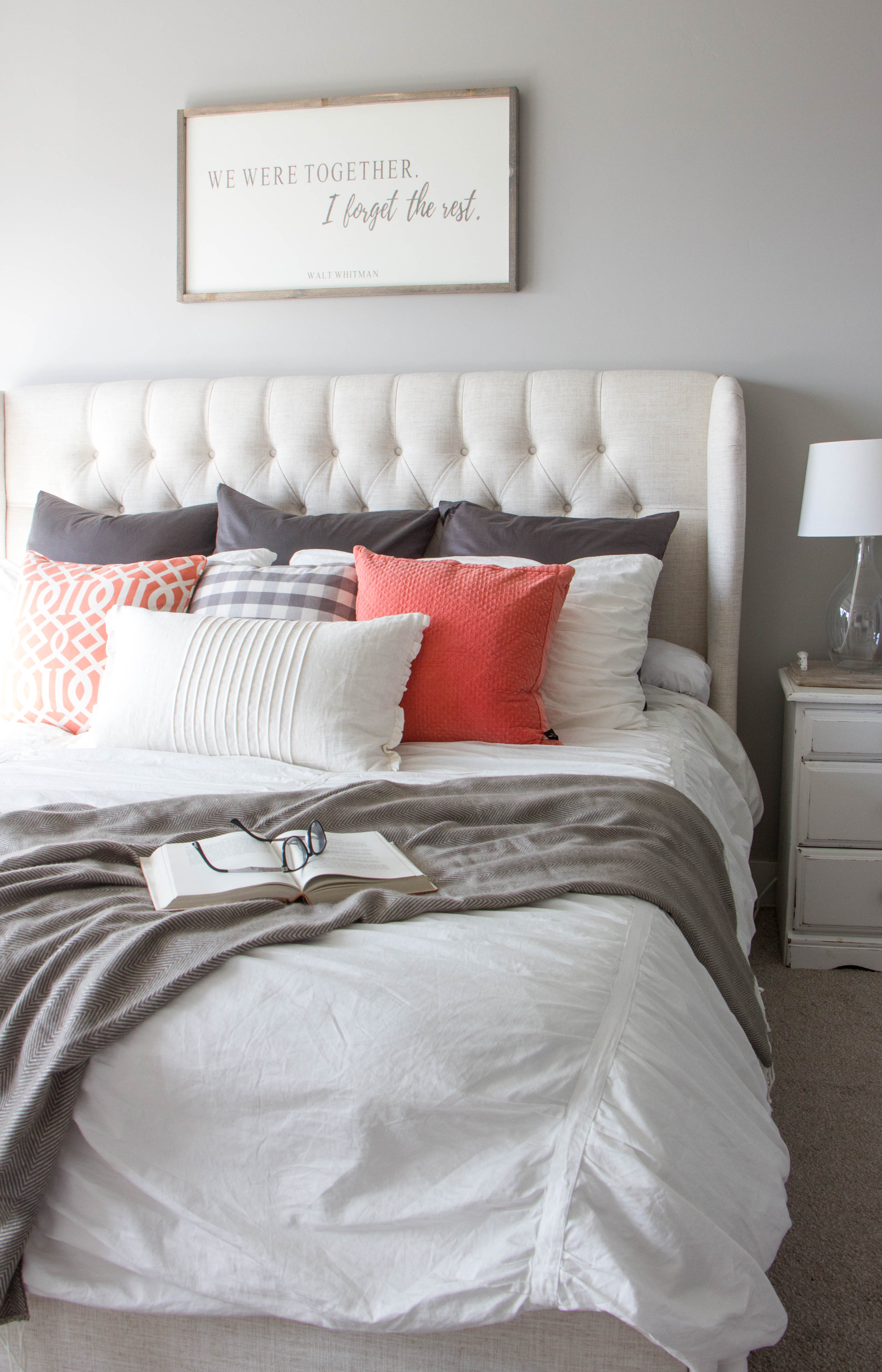 Used Tufted Bed For Sale
