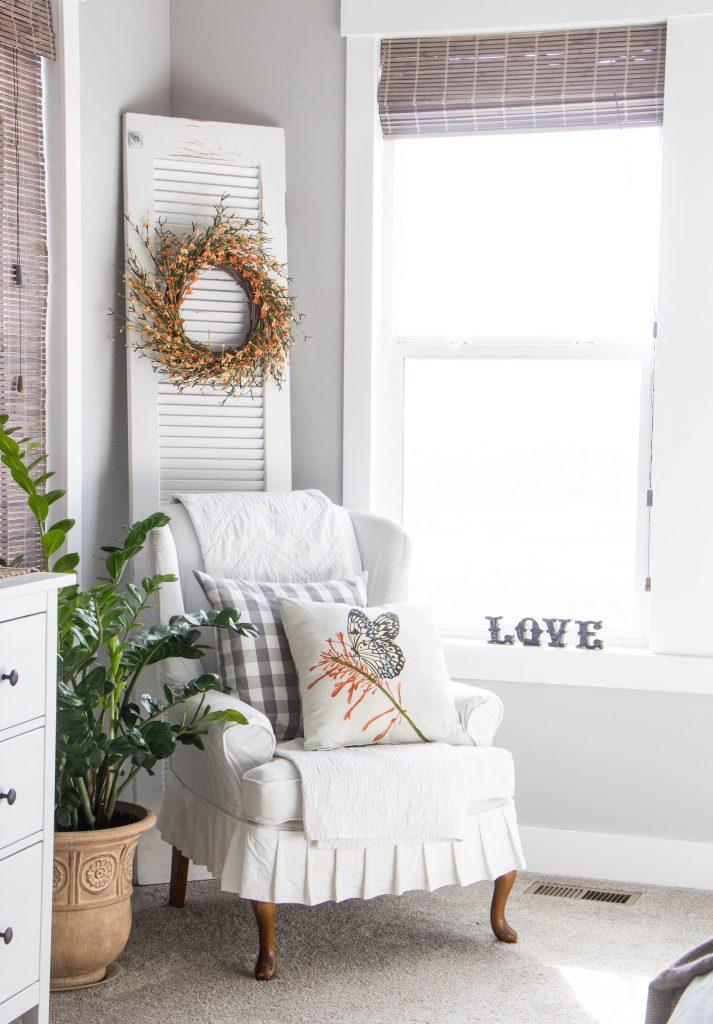 spring bedroom