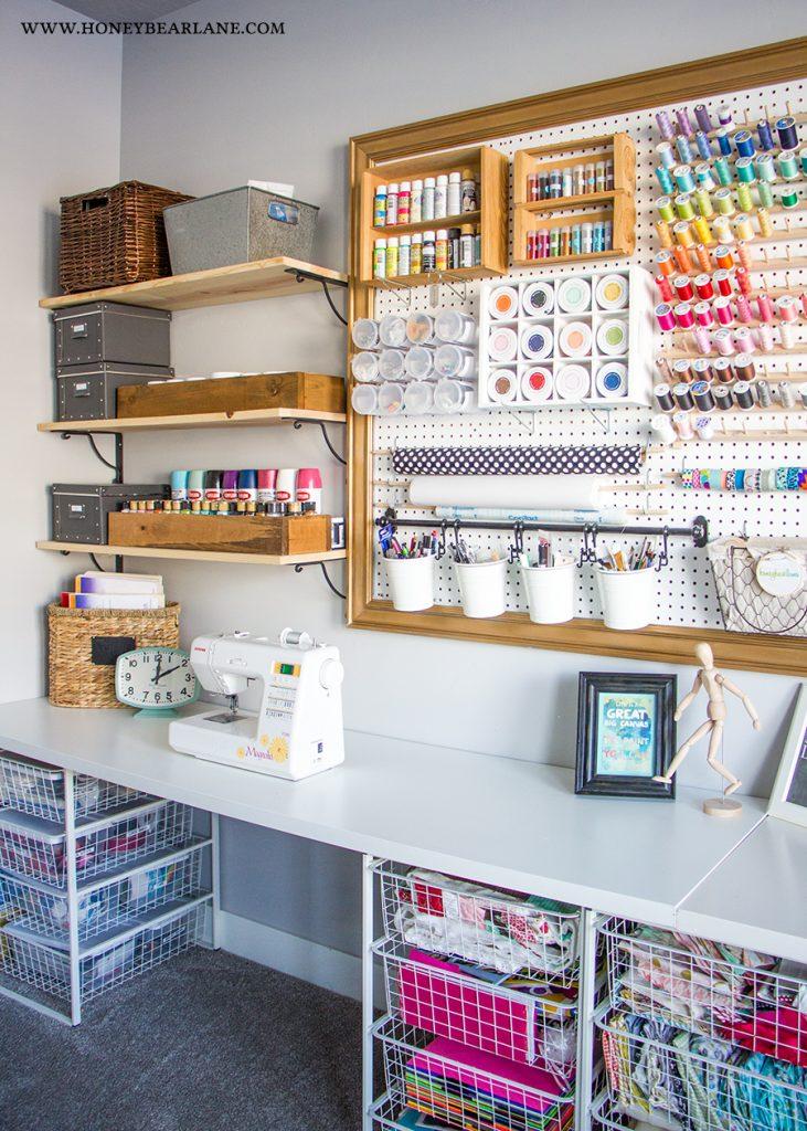 10x10 Room Layout Craft: Craft Room Makeover
